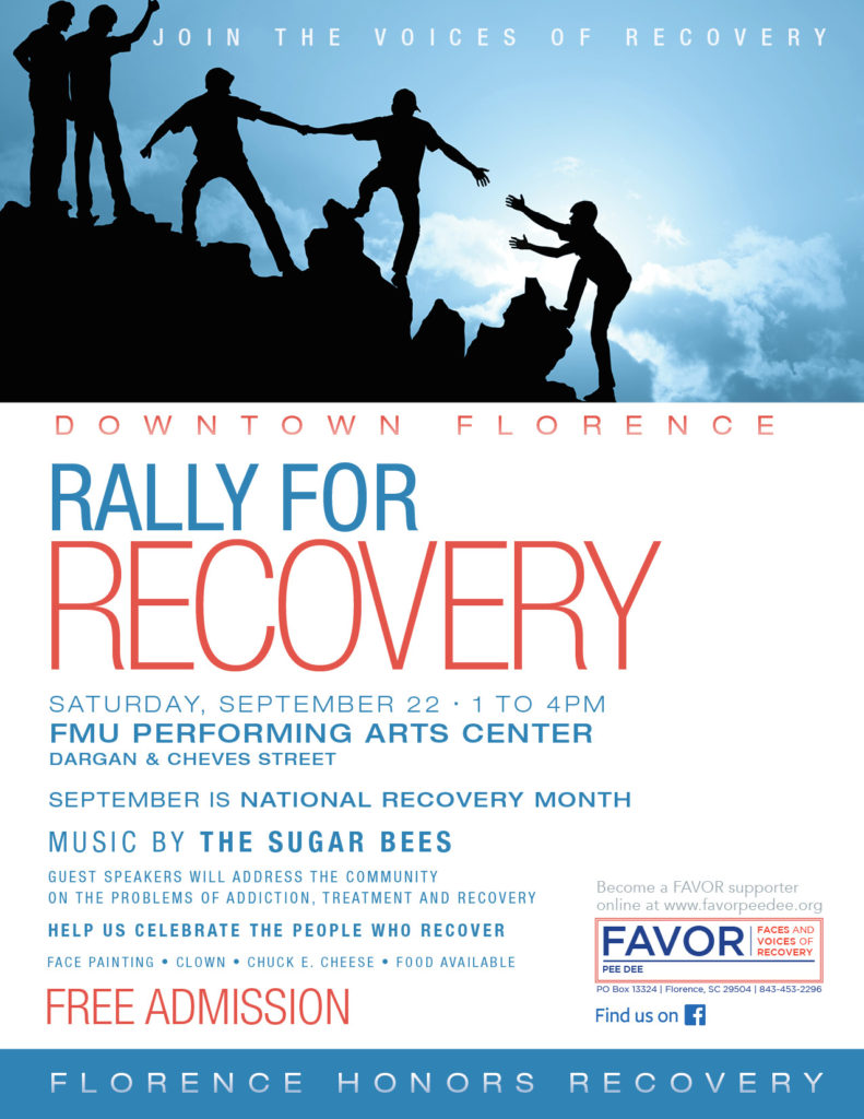 Rally for Recovery September 22, 2018